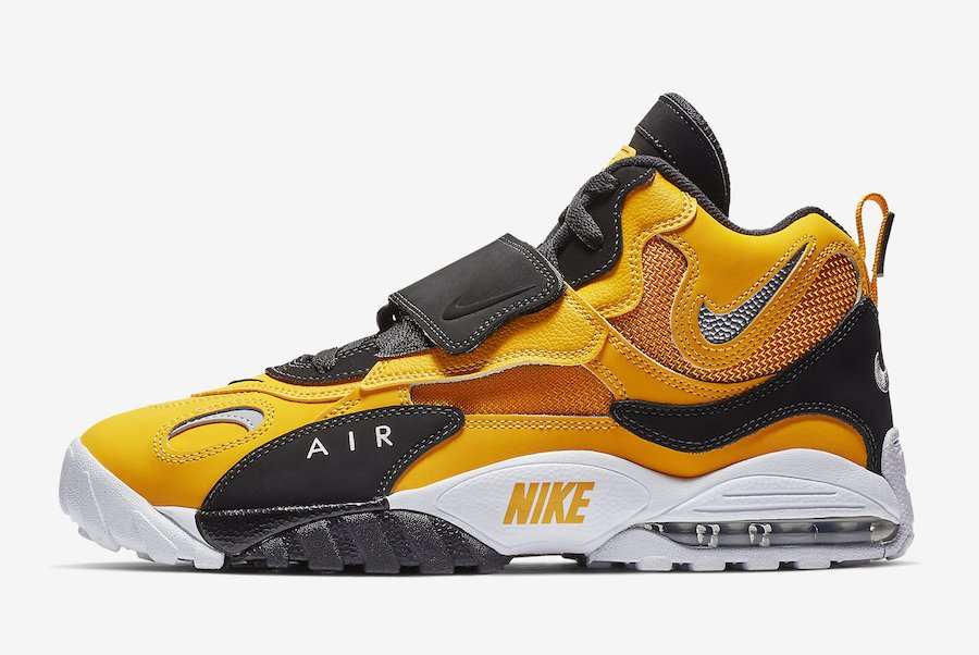 Nike Air Max Speed Turf University Gold BV1165-700 Release Date