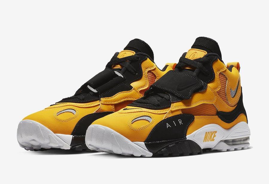 Nike Air Max Speed Turf University Gold Bv1165 700 White