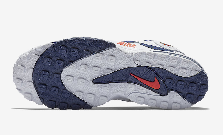 Nike Air Max Speed Turf White blue Red BV1165-100 Release Date