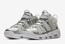 Nike Air More Uptempo Metallic Silver Loud and Clear 917593-003