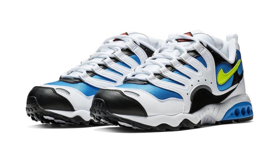 Nike Air Terra Humara White Blue Volt Grey Teal Release Date