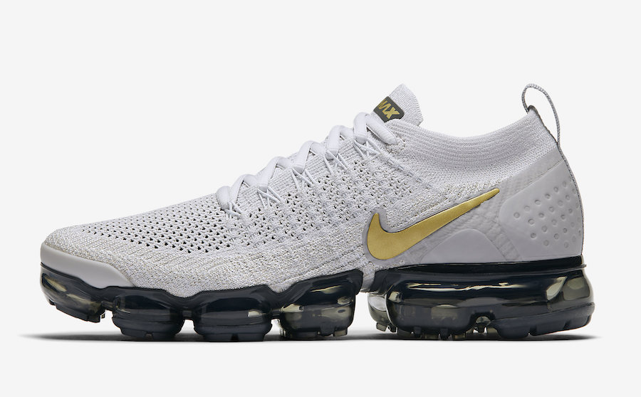 Nike Air VaporMax 2.0 Vast Grey Metallic Gold Nike Air VaporMax 2.0 Vast Grey Metallic Gold 942843-010