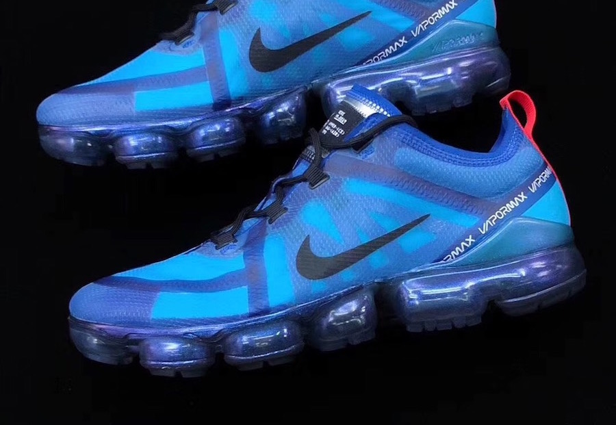 5c83e84efb Nike Air VaporMax 2019 Blue AR6631-400 Release Date | SneakerFiles