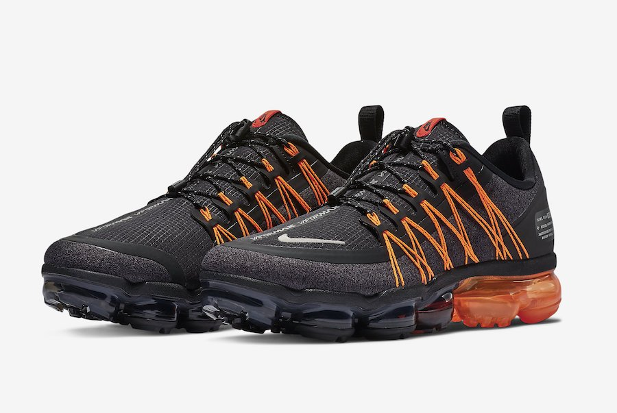 Nike Air VaporMax Utility Black Orange AQ8810-005