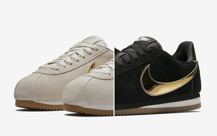Nike Cortez Metallic Gold Pack Release Date