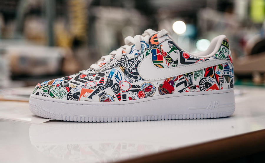Nike Flyleather Air Force 1