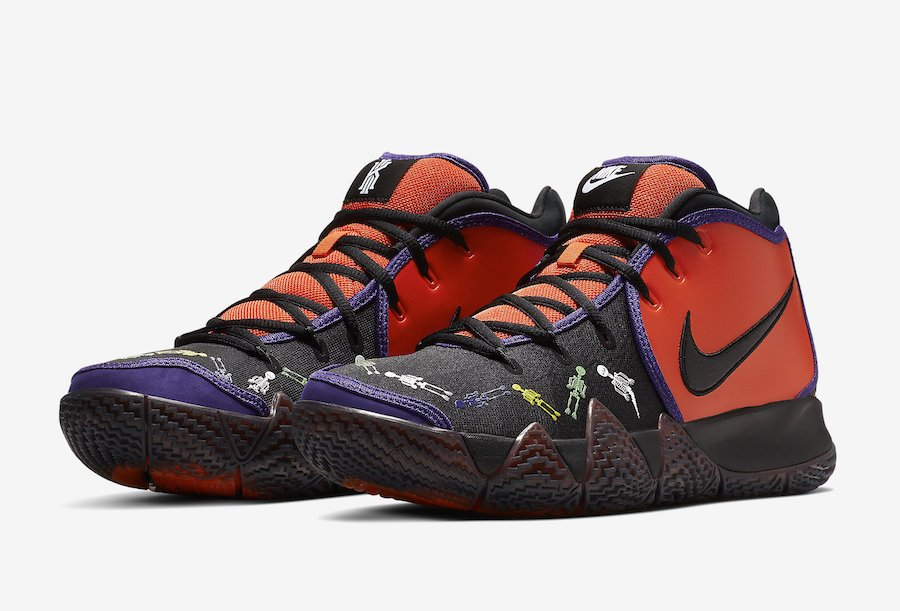 Nike Kyrie 4 DOTD Day of the Dead CI0278-800