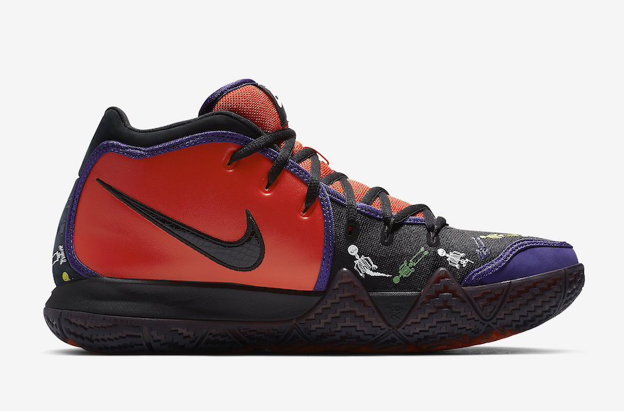 3291a17050b Nike Kyrie 4 DOTD Day of the Dead CI0278-800 Release Date