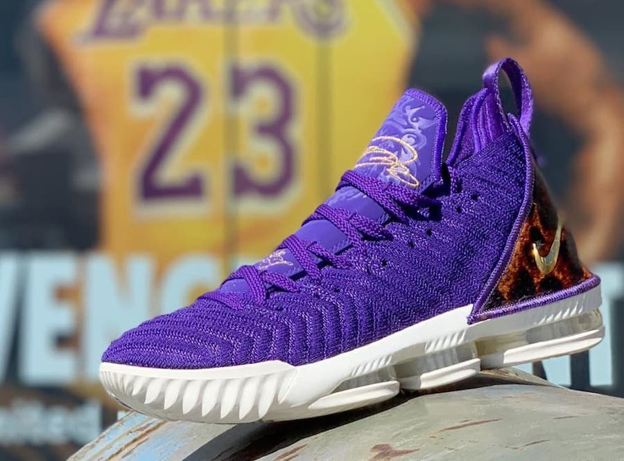f568ca98ddaef Nike LeBron 16 King Court Purple AO2588-500 Release Date | SneakerFiles