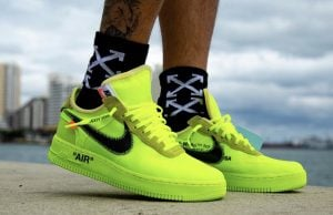Nike Off White Air Force 1 Low Volt Release Date