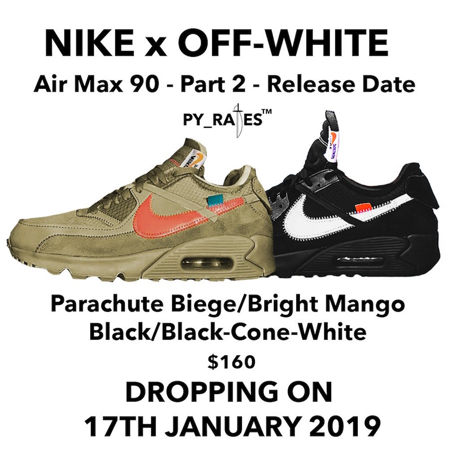 Nike Off-White Air Max 90 2019