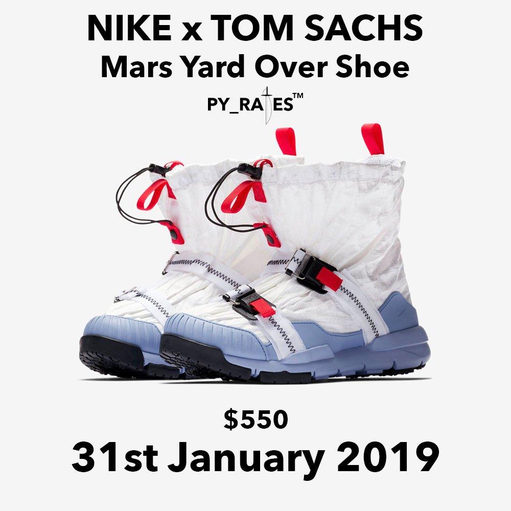 Nike Tom Sachs Mars Yard Overshoe Release Date