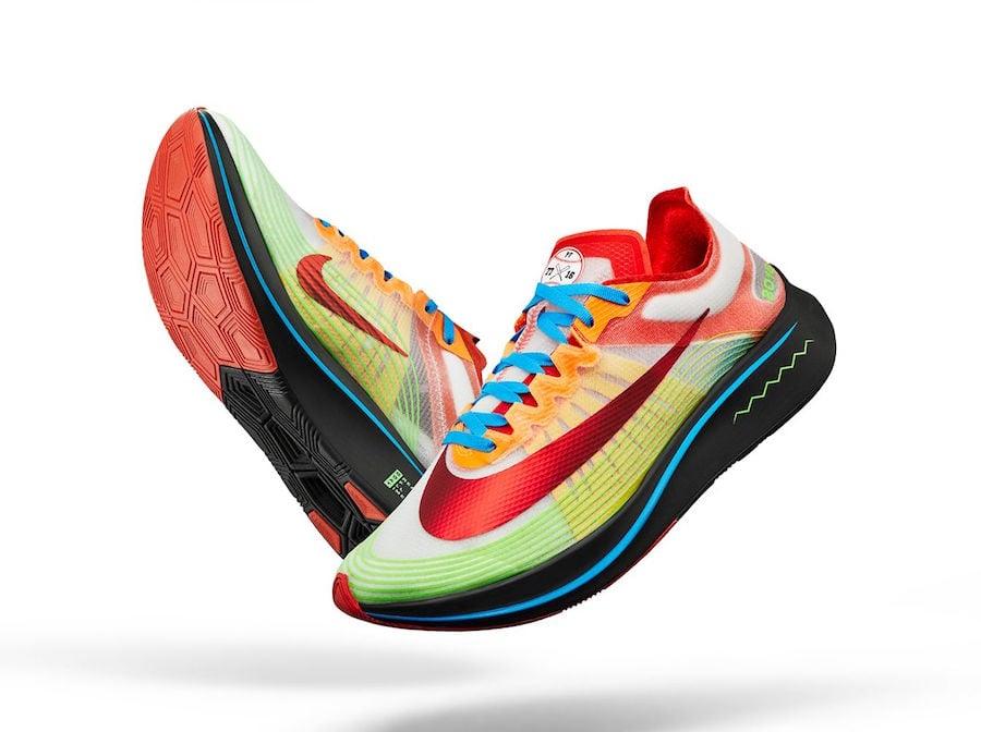 4c70225c29ec79 Nike Zoom Fly Doernbecher Payton Fentress BV8734-100 Release Date ...