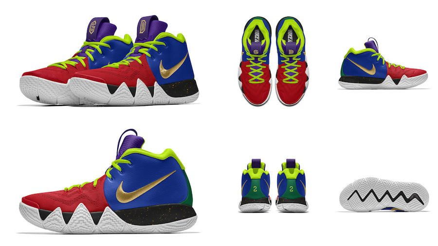NIKEiD Kyrie 4 Different