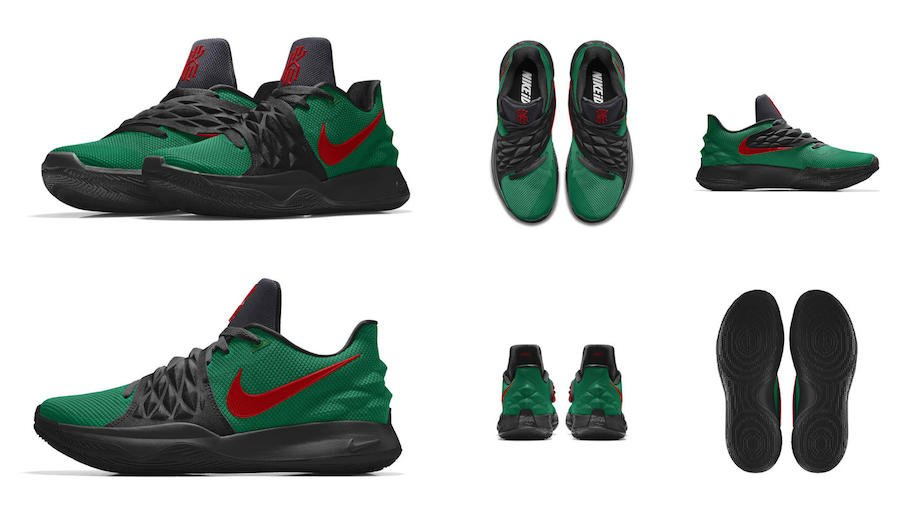 NIKEiD Kyrie Low Cages
