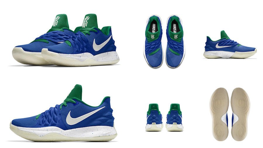 NIKEiD Kyrie Low Retro Glow
