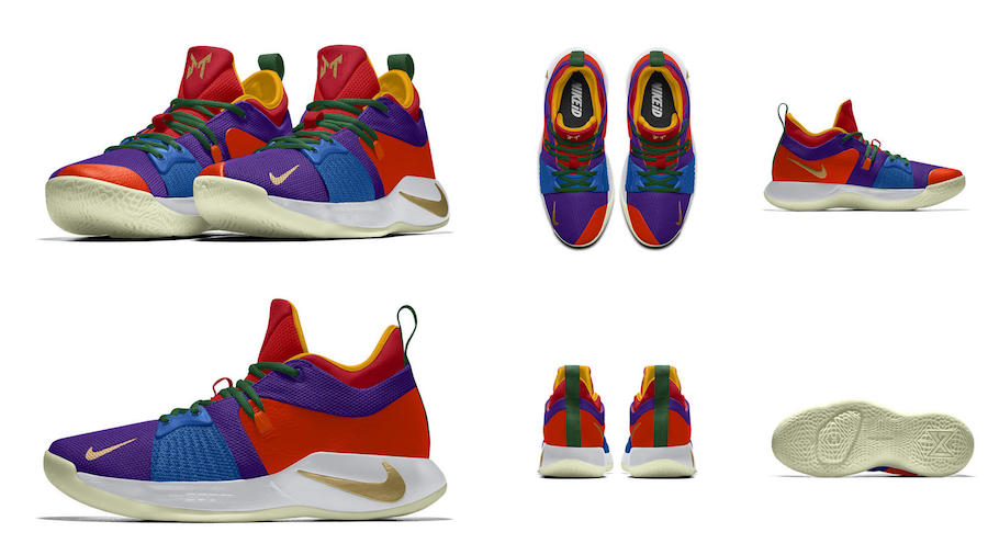 NIKEiD PG 2 Coloring Book