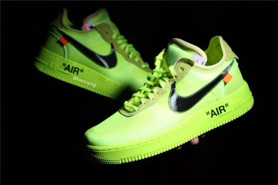Off-White Nike Air Force 1 Volt