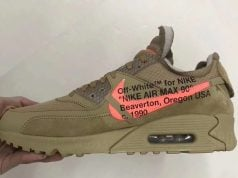 Off-White Nike Air Max 90 Desert Ore AA7293-200