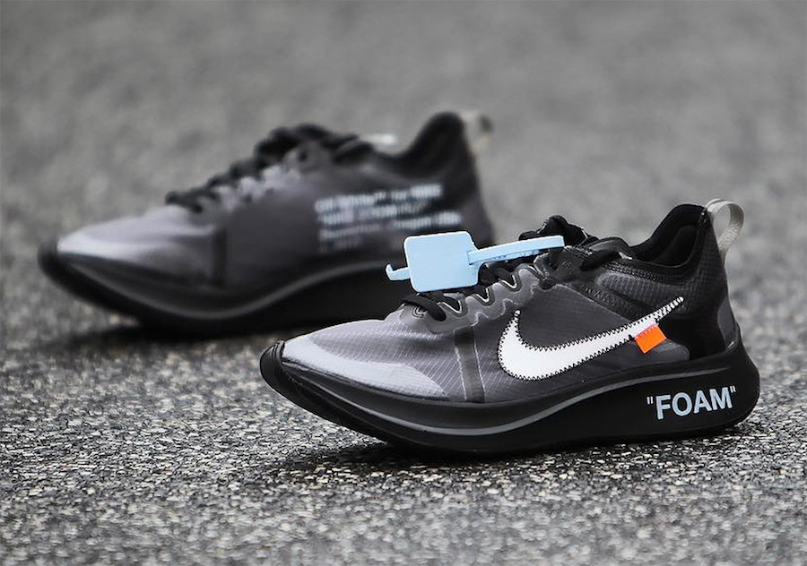 Off-White Nike Zoom Fly Black AJ4588-600 Release Date