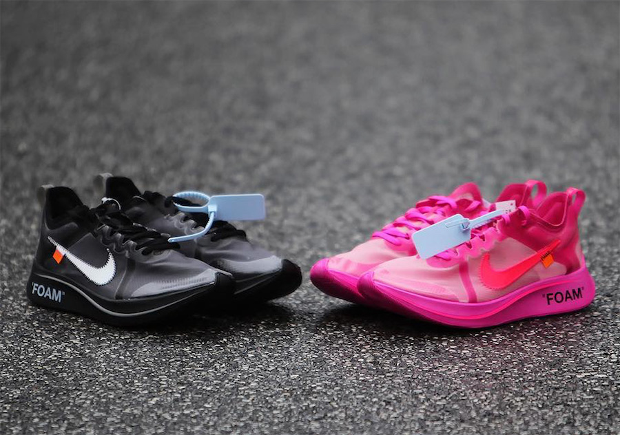 Off-White Nike Zoom Fly Black Pink Release Date