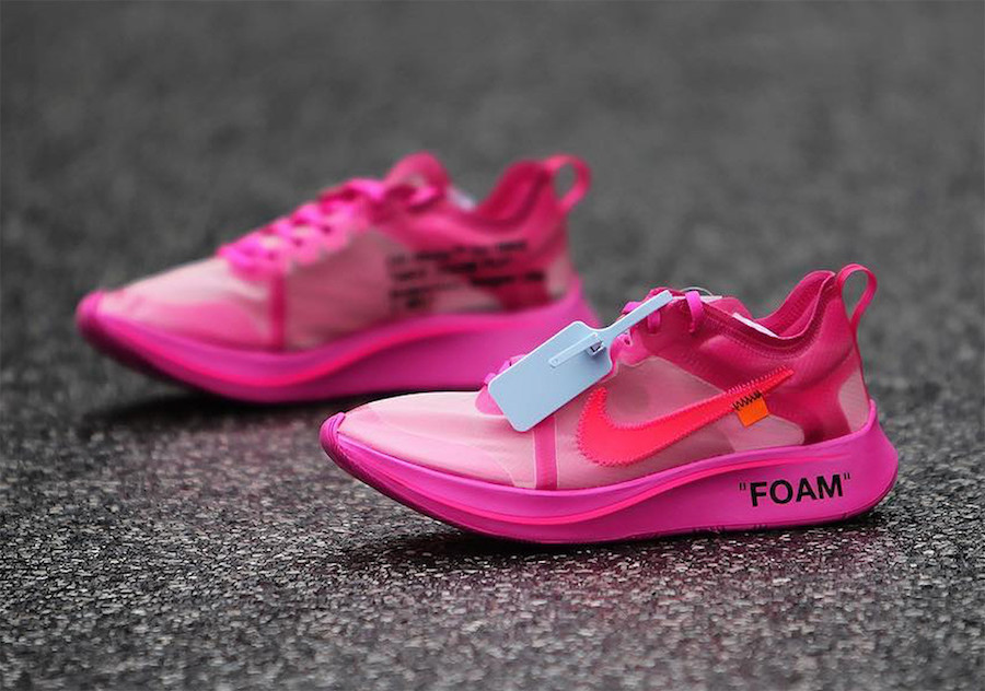 Off-White Nike Zoom Fly Pink AJ4588-001 Release Date