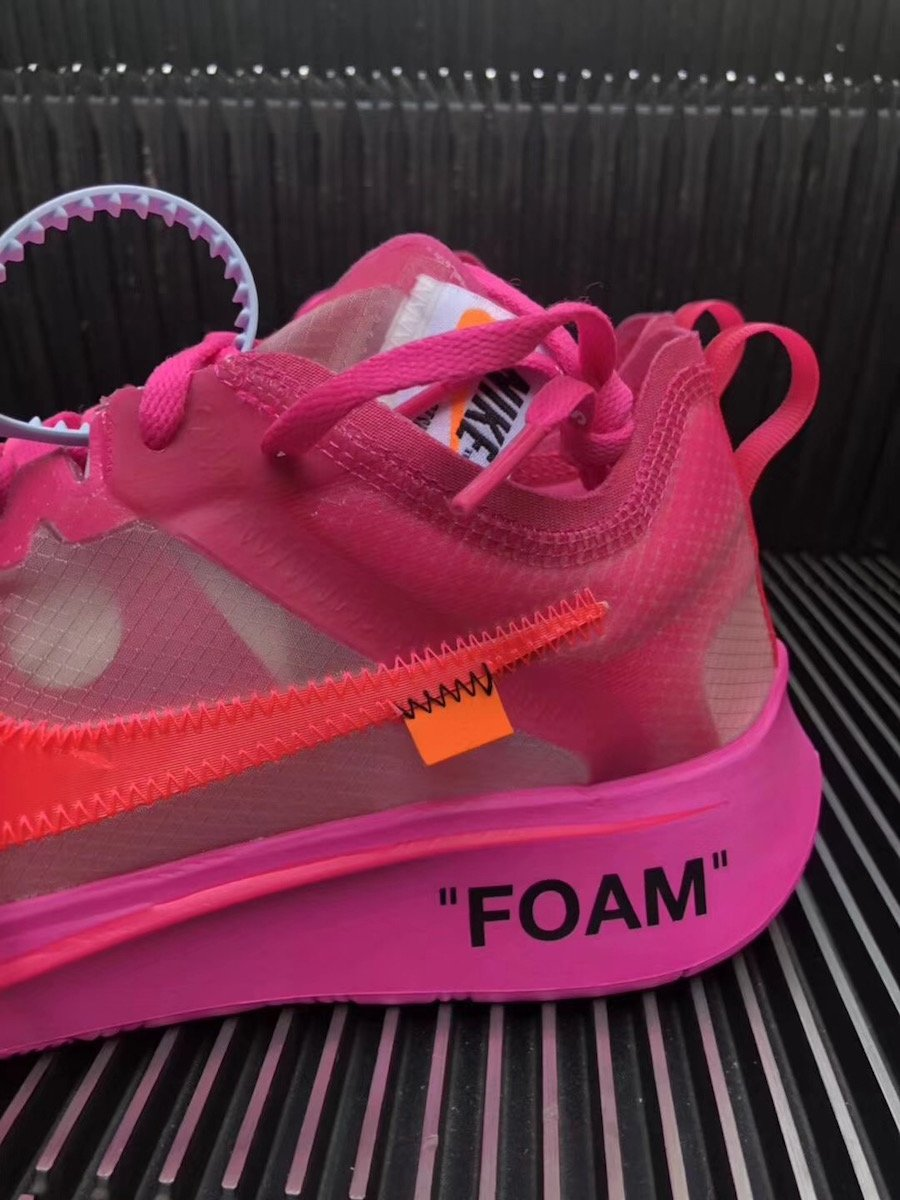 e693acf987b2 Off-White Nike Zoom Fly Pink AJ4588-600 Release Date