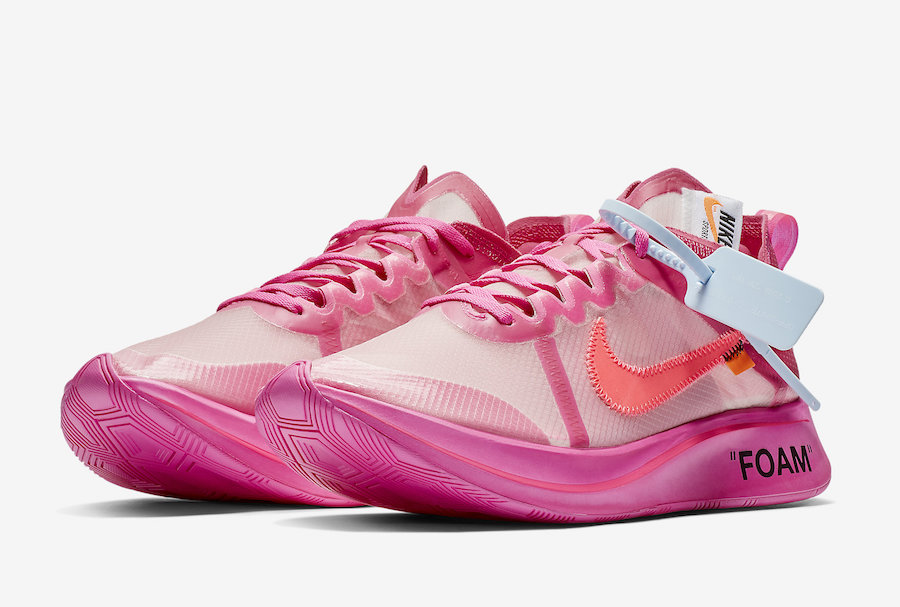 63a0637c70 Off-White Nike Zoom Fly Pink AJ4588-600 Release Date | SneakerFiles