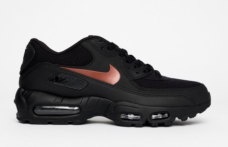 Patta Nike Air Max 90 95 Black Mars Stone Black  CJ4741-001 Release Date