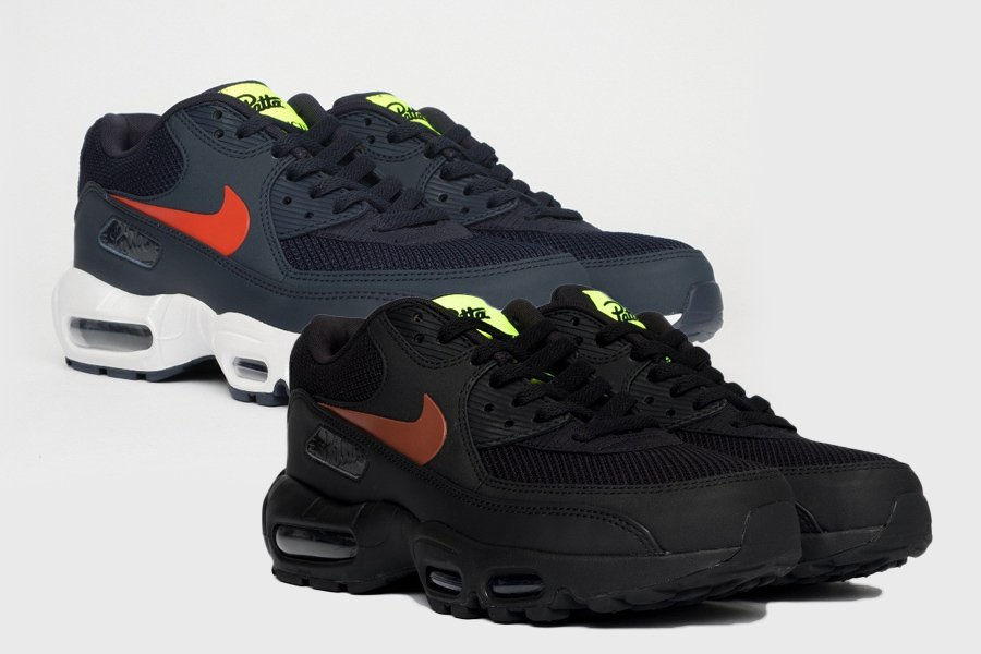 A New Hybrid: Patta x Nike Air Max 90 x 95 The Drop Date