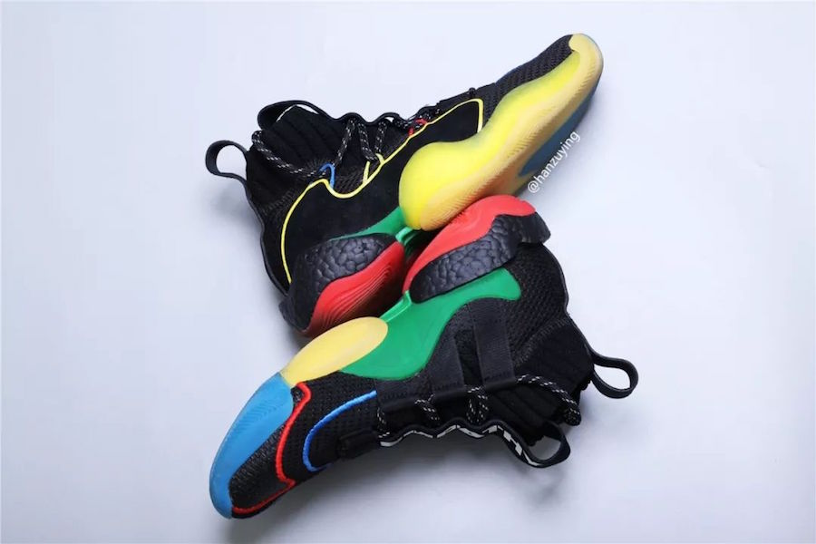 new product 46c80 92a7c Pharrell adidas Crazy BYW X Gratitude Empathy G27805 Release ...