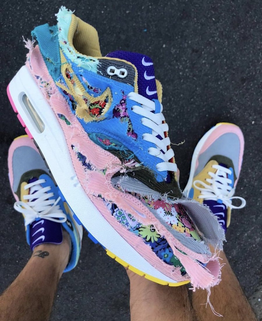 Sean Wotherspoon Nike Air Max 1 Bespoke Corduroy Tear Away