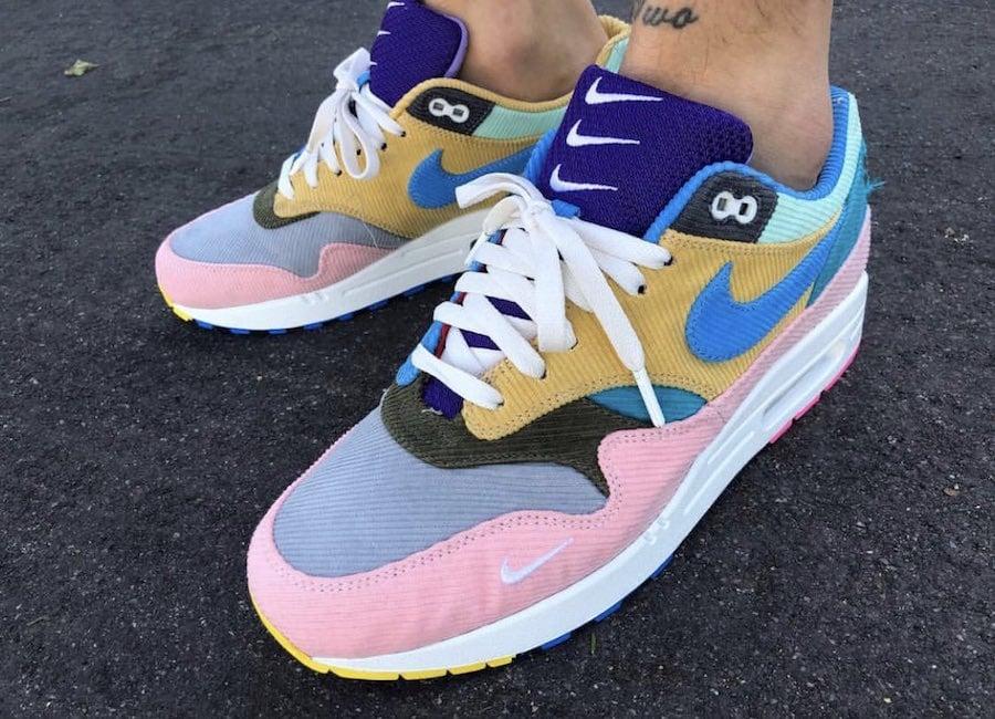 Sean Wotherspoon Nike Air Max 1 Bespoke Corduroy Tear Away ... 233902c4f
