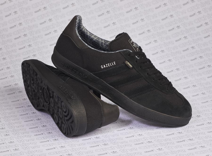 size adidas Gazelle Indoor Gore-Tex Black Release Date