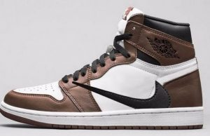 Travis Scott Air Jordan 1 Sail Dark Mocha University Red Black Release Date News