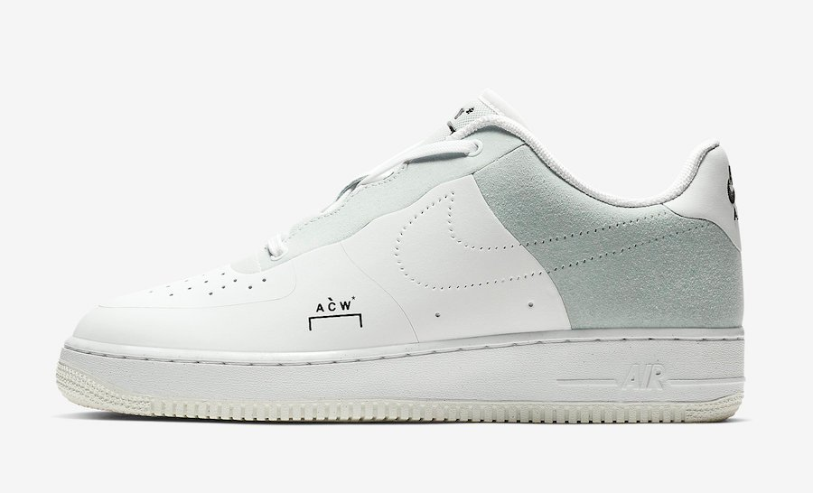 A-Cold-Wall Nike Air Force 1 White BQ6924-100