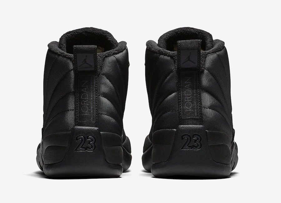 Air Jordan 12 Winterized Black BQ6851-001 Release Date