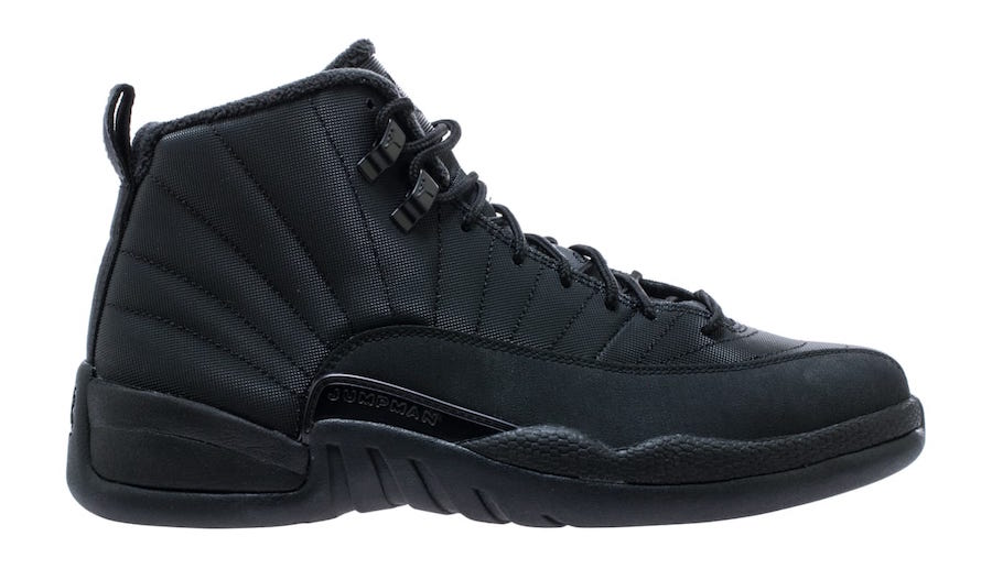 Air Jordan 12 Winterized Black Anthracite BQ6851-001