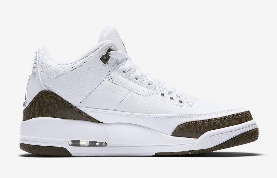 Air Jordan 3 Mocha 136064-122 Release Date Price