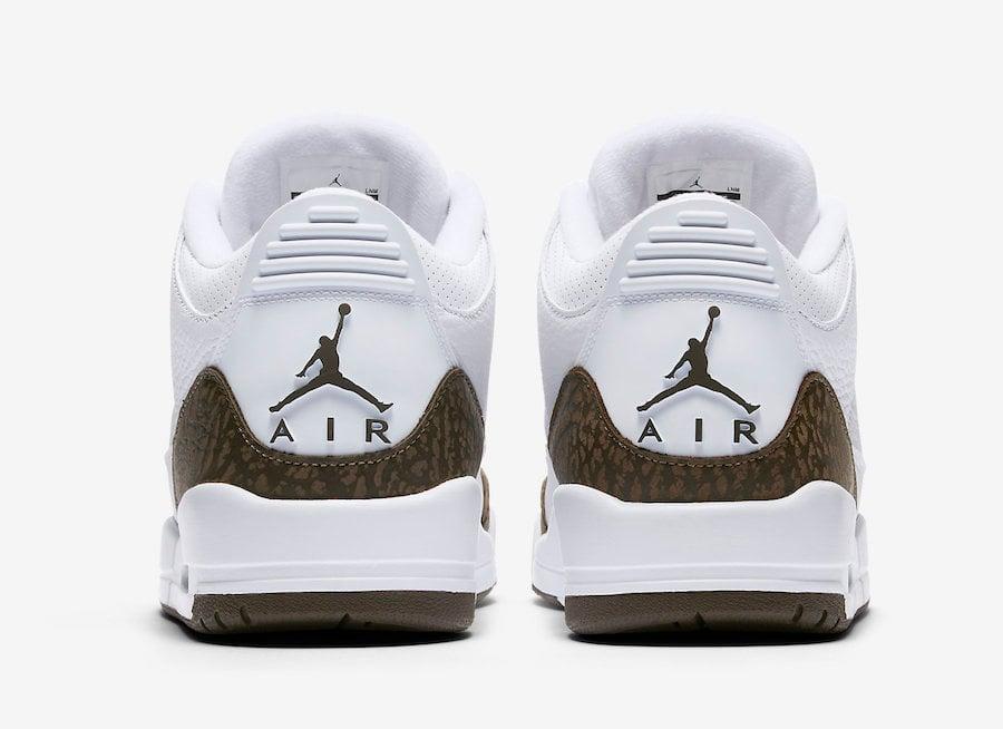 Air Jordan 3 Mocha 2018 136064-122 Release Date  35e039ffc709