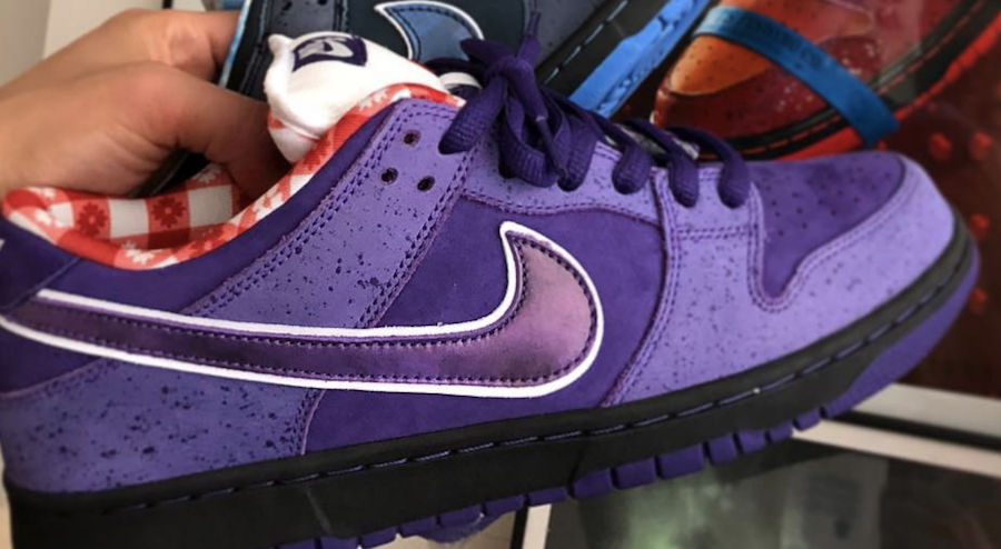 Concepts Nike SB Dunk Low Purple Lobster BV1310-555