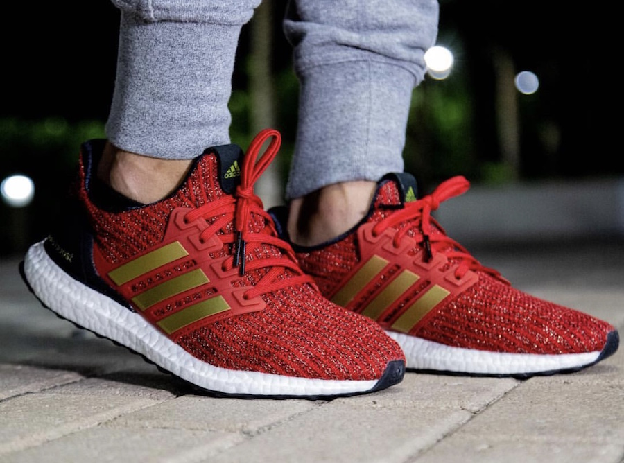 adidas Ultra Boost Game of Thrones House Lannister EE3710