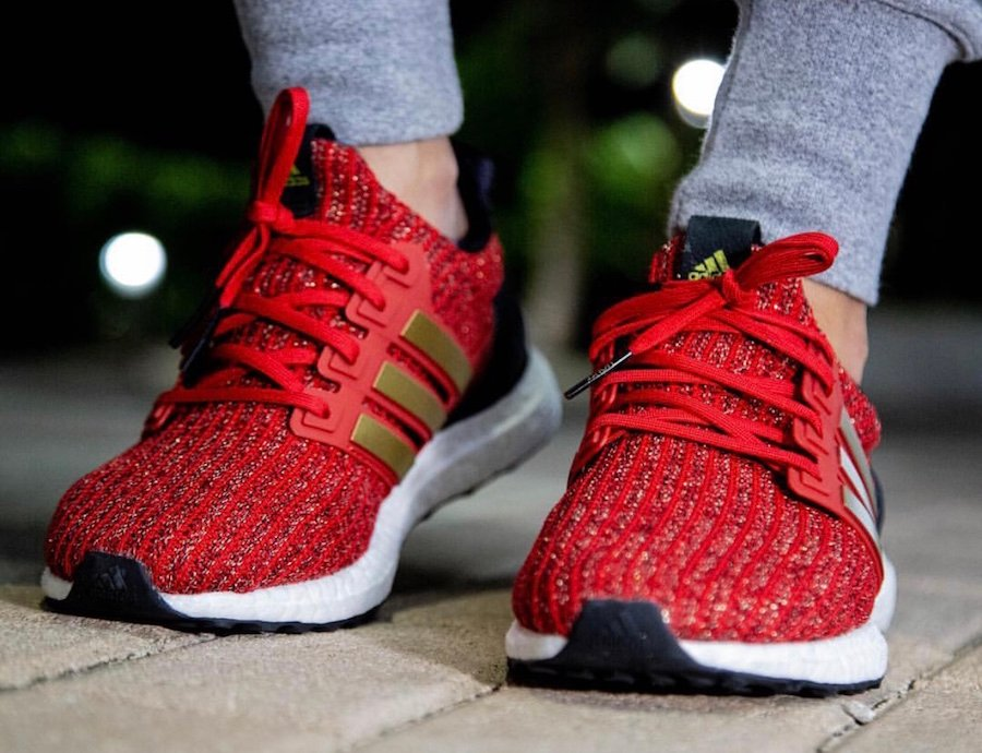 73aa8828012 adidas Ultra Boost Game of Thrones House Lannister EE3710 Release ...