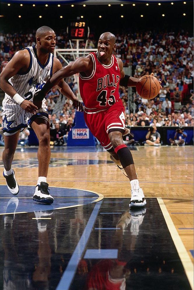 Michael Jordan Air Jordan 11 Concord Nick Anderson Air Jordan 10 Orlando