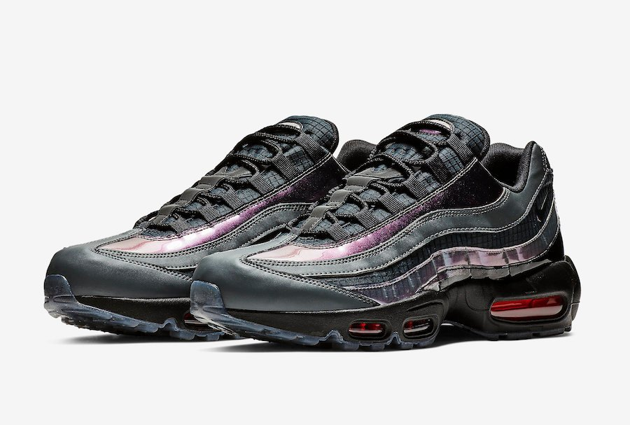 Nike Air Max 95 Black Ember Glow Dark Grey AO2450-001