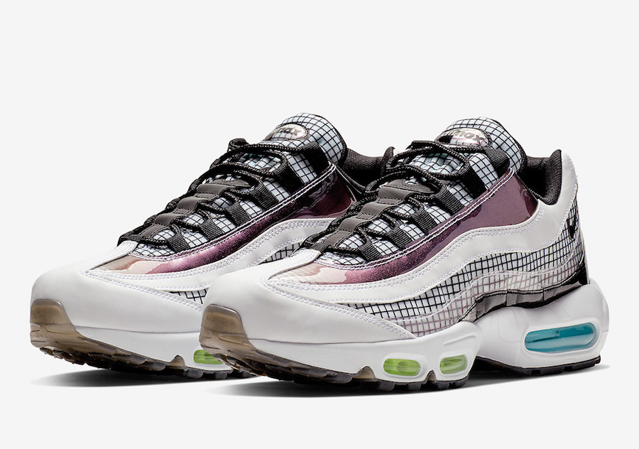 Nike Air Max 95 Grid Pack AO2450 100 Release Date | SneakerFiles