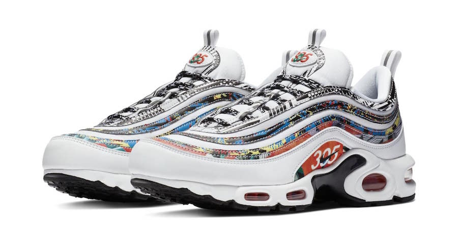 Nike Air Max Plus 97 Platinum Blau CD7862 |