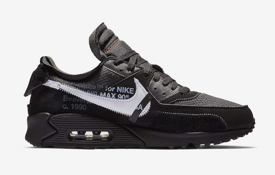 Nike Off-White Air Max 90 Black AA7293-001