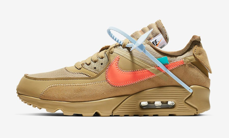 Nike Off-White Air Max 90 Desert Ore AA7293-200
