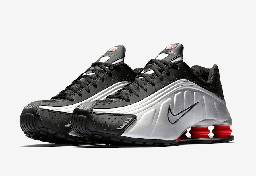 low priced 30cbd 10588 Nike Shox R4 OG Black Silver 2019 BV1111-008 Release Date